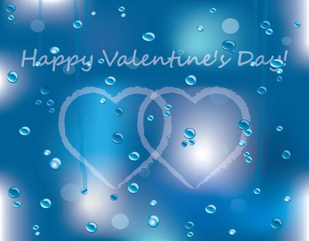 special Valentines day card Vector