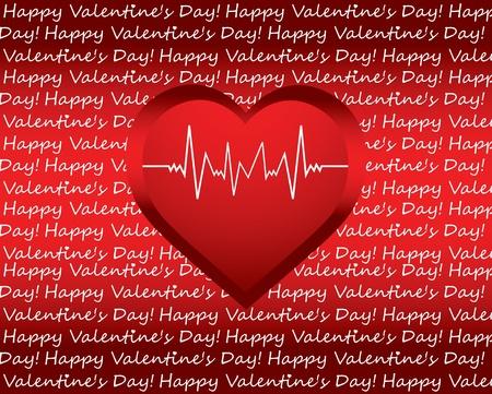 cardioid: de fondo un d�a especial de San Valent�n con el coraz�n