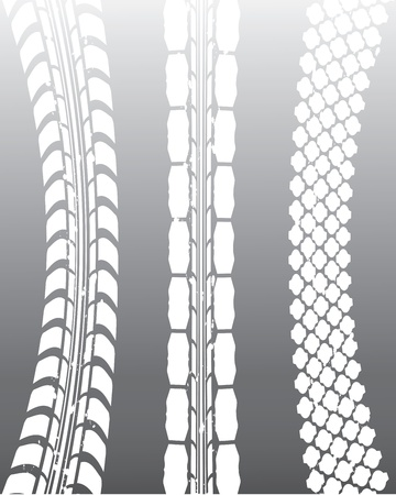 special tire track background Stock Vector - 12352716