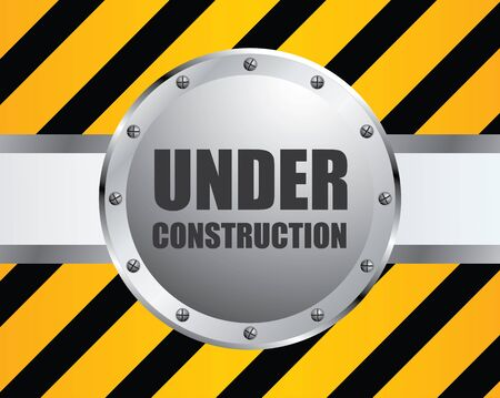 special under construction background Vector