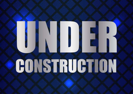 abstract under construction background with special design Stock Vector - 12793363