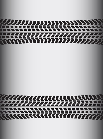 car tire: speciale band achtergrond Stock Illustratie