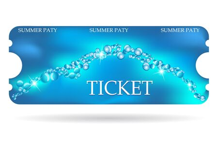 special event: Entrance ticket with special marine design