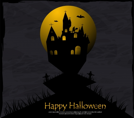 Halloween background Stock Vector - 15273968