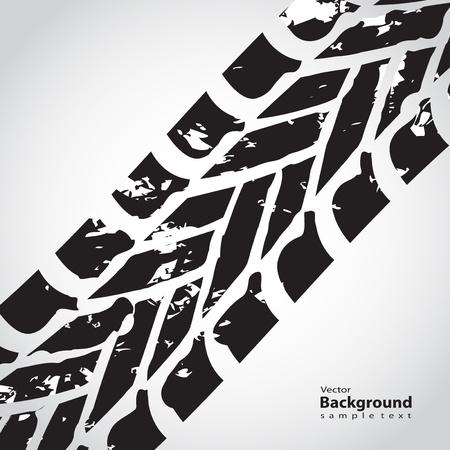 neumático pista de fondo