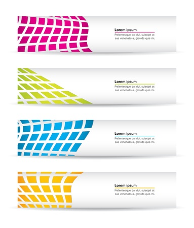 banners with special design Vector