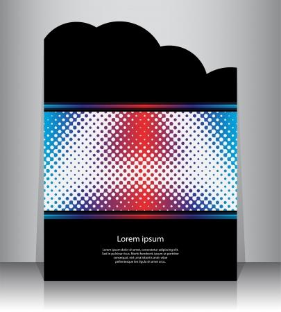 presentation folder: flyer design Illustration