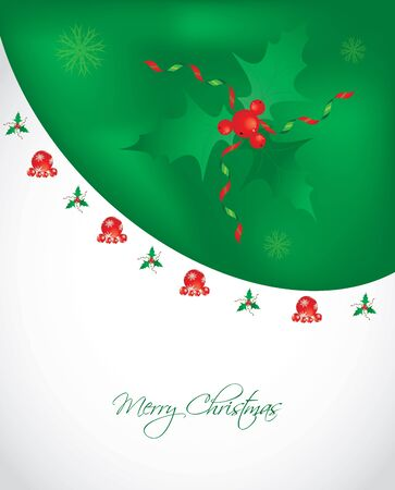 special Christmas card Vector