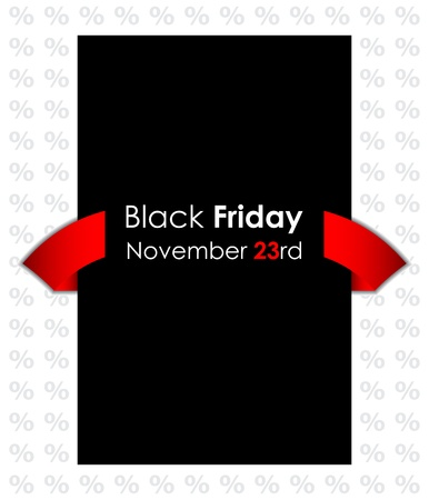 special black friday banner Stock Vector - 16317735
