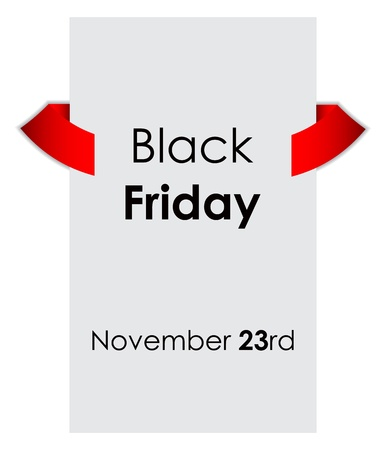 black friday sale tag with special design Stock Vector - 16317714