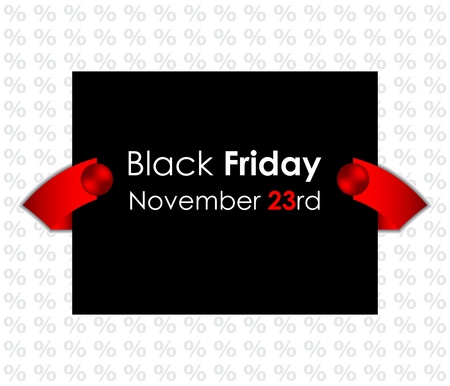 trendy black friday banner Vector