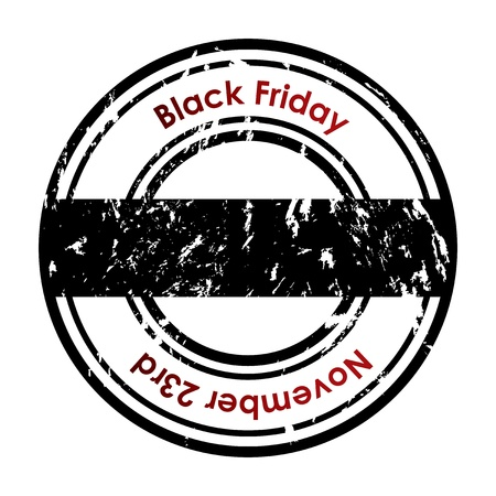 grunge rubber stamp with Black Friday text Stock Vector - 16317738