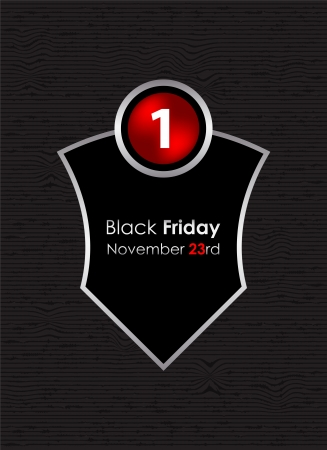 special background with black friday sign Stock Vector - 16441540