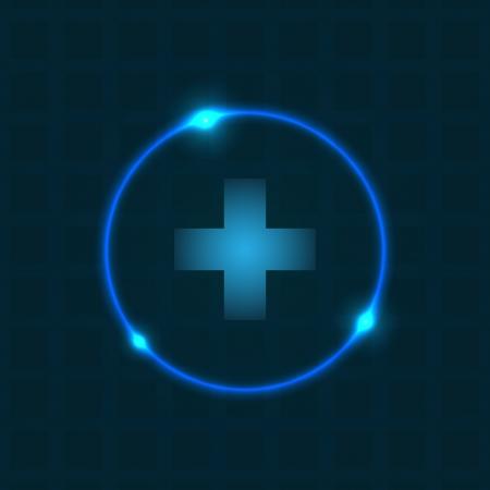 Abstrakter Hintergrund mit speziellen Plasma-Design