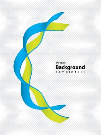 Cadena de ADN con un diseño especial - fondo médico