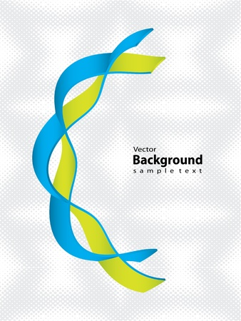 DNA strand with special design - medical background