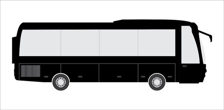 tourist bus with special design Vector