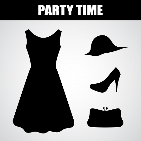 party dress: special black dress