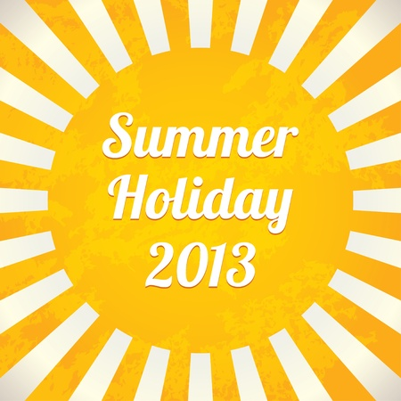 rise and shine: Summer background