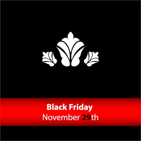 special black friday banner with vintage design Vector