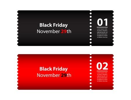 kerst markt: zwarte vrijdag coupon