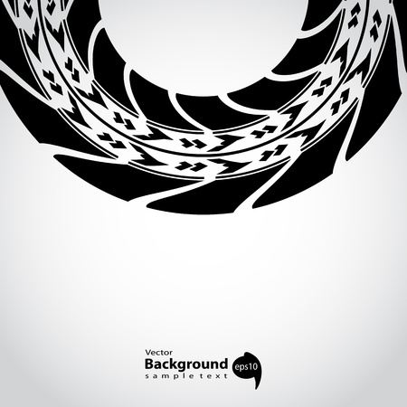 tire track background Vector