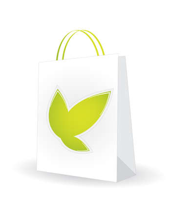 shopping bag with special natural design Stock Vector - 20989954