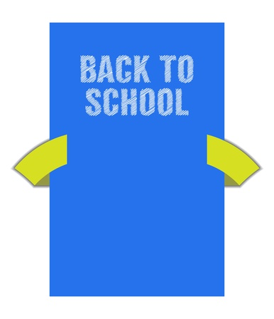 Back to school banner with special sketch design Stock Vector - 21773825