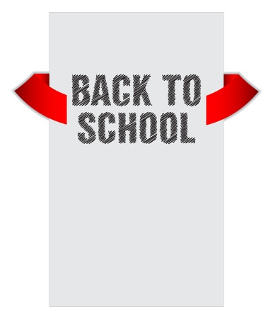 Back to school banner with special sketch design Stock Vector - 21773828