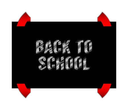 Back to school banner with special sketch design Stock Vector - 21773833