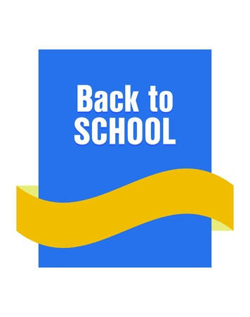Back to school banner Stock Vector - 21773838