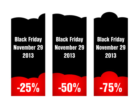 special black friday price tag Vector
