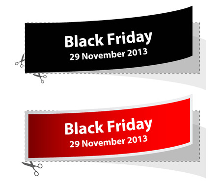 special black friday labels Vector