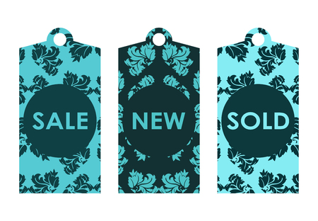 hang tag: price tags with vintage design
