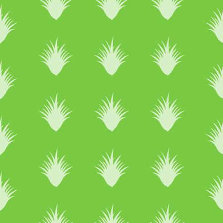aloe vera background: seamless Aloe Vera pattern with special design