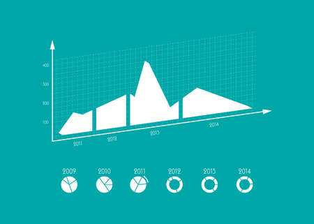 modern business  infographics elements, vector illustration, EPS10 Vector