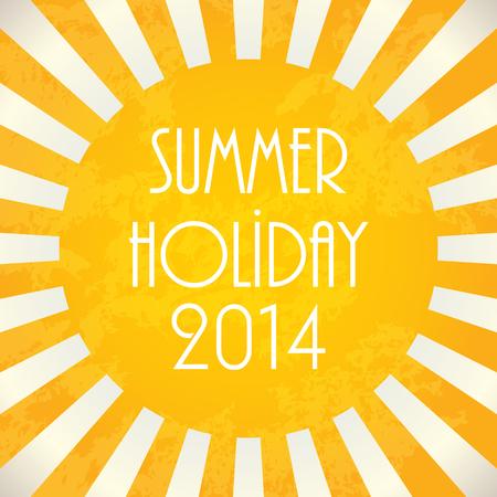 cover background time: Summer background  Illustration