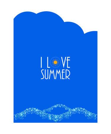 wather: summer background