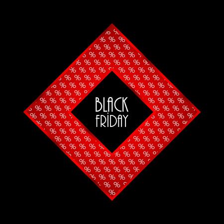 black friday modern background Vector