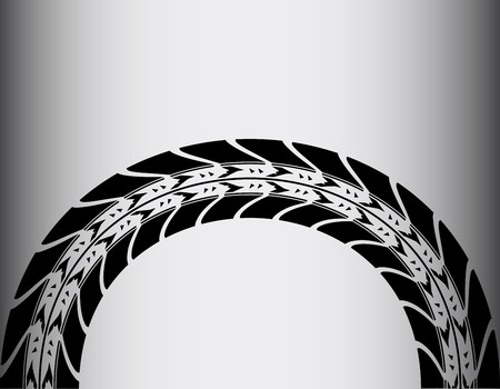 skidding: tire track background