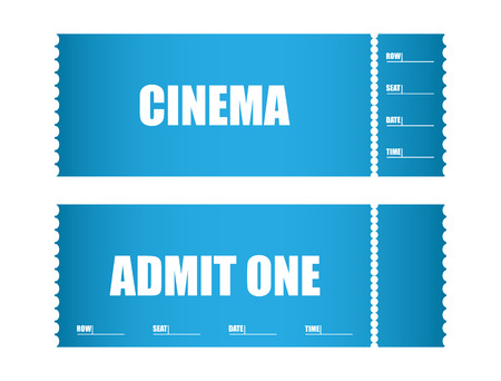 single entry: admit one ticket cinema tickets