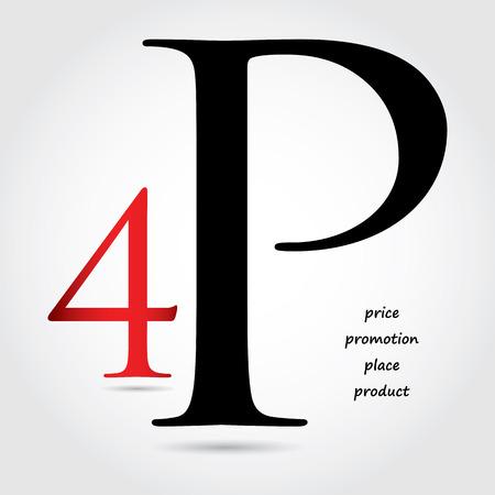 marketing mix: special marketing mix design - 4P design