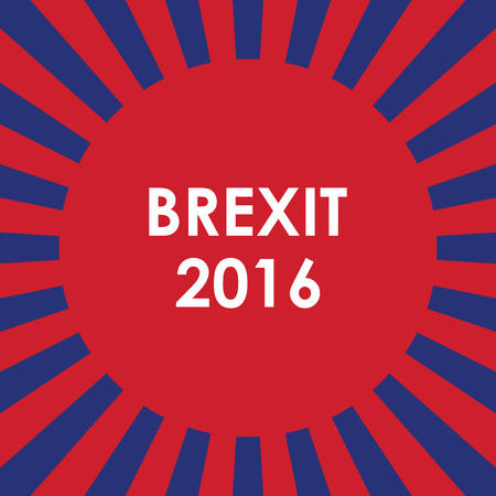reform: abstract brexit 2016 background Illustration