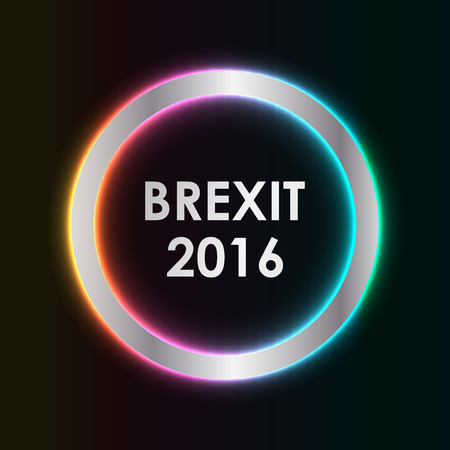 england politics: abstract brexit 2016 background Illustration