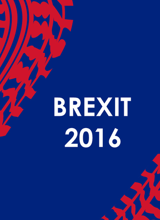 other keywords: abstract brexit 2016 background with tire design