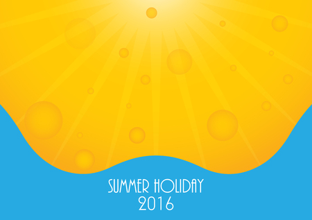 holiday background: Summer holiday 2016 background