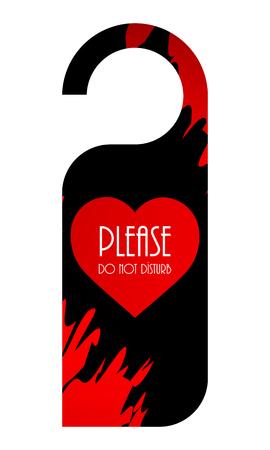 sec: door knob with Valentines day design