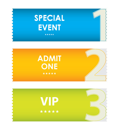 Special Modern Ticket Template, Event Ticket, Admit One Royalty Free ...