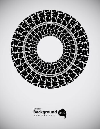 tire track abstract background, transportation design
