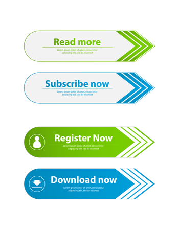 special website buttons,register,download,join advertisement banners